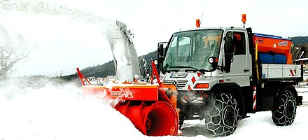 Навесные роторные снегоочистители