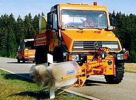 Установка для мойки дорожных ограждений RPS-H