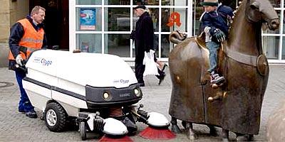 Ручные подметально-уборочные машины