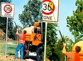 Агрегат для мойки дорожных знаков HB