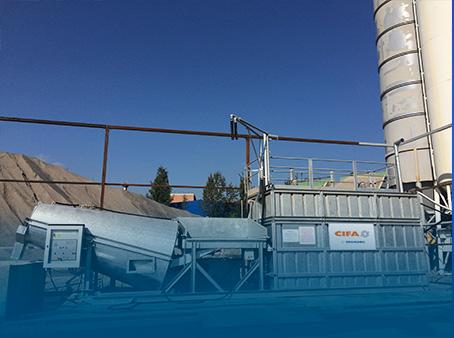 Рекультивация отходов производства свежего (товарного) бетона